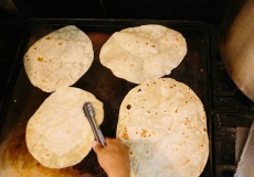House Made Flour Tortillas