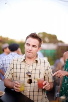 Kiro Rancher: Fresh Yellow Watermelon Juice, Nigori Saki, Muddled Shiso, Shochu + Yuzu. Bloody Clara: Fresh Heirloom Tomato Water, Tequila, Lovage, Fresh Horseradish + Lime