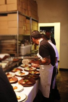 Plating the Entree