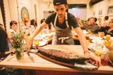 Whole Roasted Salmon