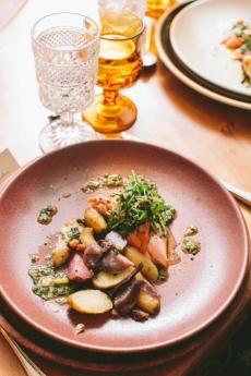 Salmon & Potatoes