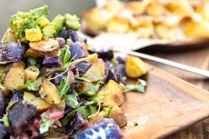 Sweet + Sour Potato Salad with Avocado