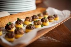 Wild Mushroom Polenta Cakes