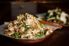 Jidori Chicken Salad with Lettuce Wraps