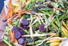 Roasted Winter Vegetable Salad