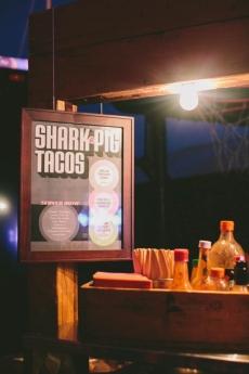 Shark & Pig Taco Menu