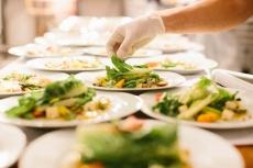 Garden Salad Plate Up